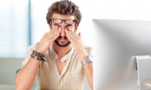 Раздражение глаз: что делать, чем лечить, помощь при покраснении глаз от компьютера